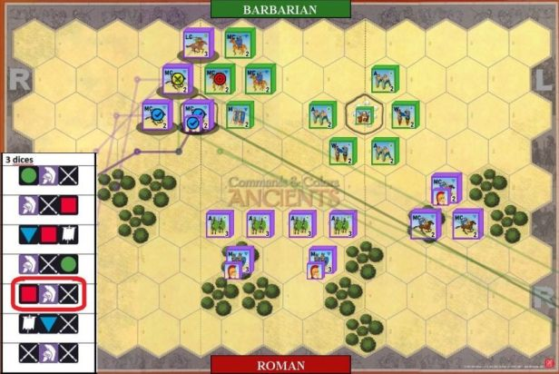 07. Momentum advance and second successful attack, this time on enemy cavalry.