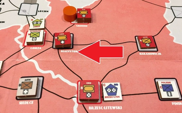 All hope are gone. Soviets enter from the East, attacking Grodno and Brest.