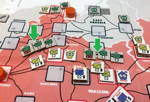 Second turn attacks in north result in high German causalities.