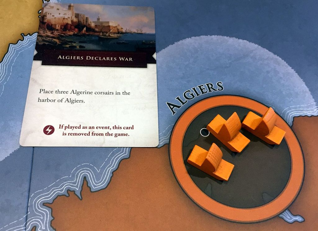"""Of course new pirates - this time in Algiers - appear! But """"Show of Force"""" will deal with them."""