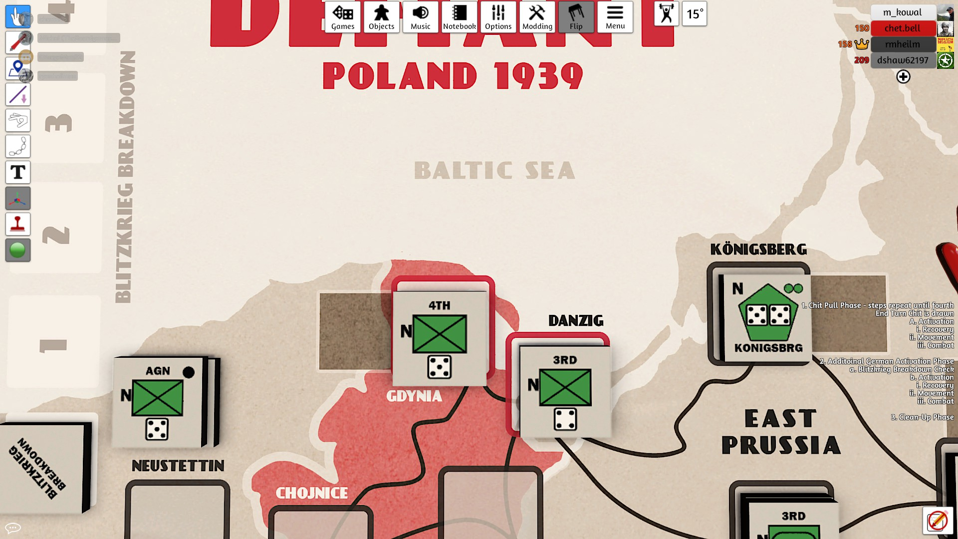 These were to great rolls for Germans and Gdynia falls.