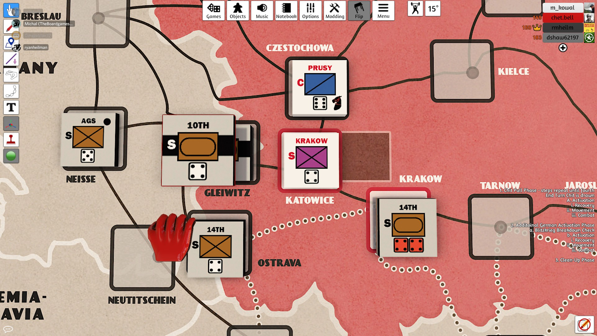 The last and final attack on Katowice - this time Chester will get the city!