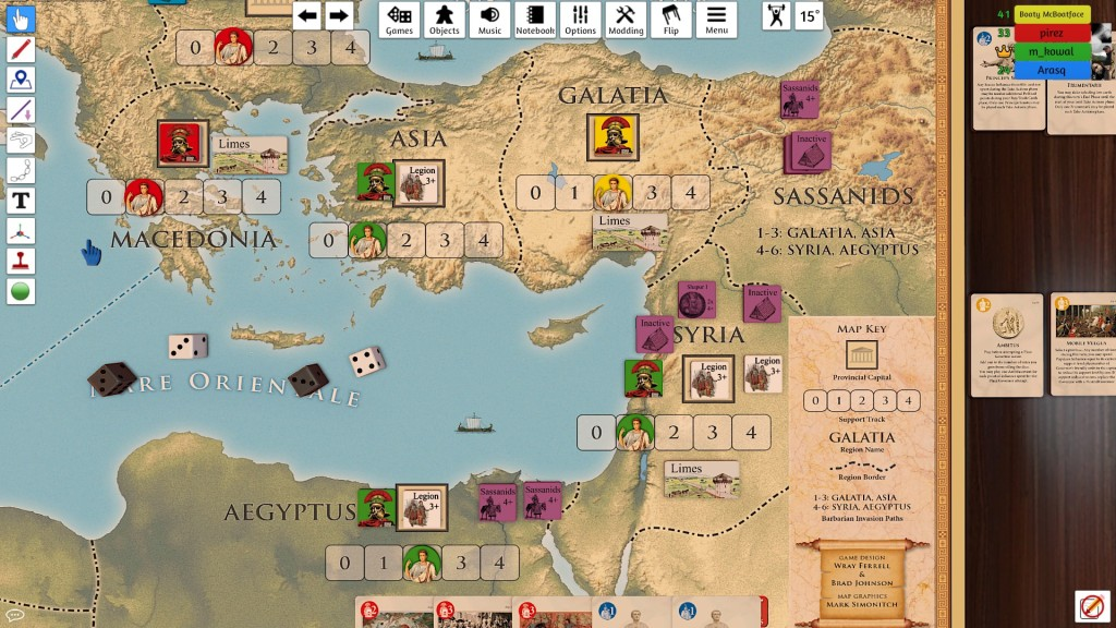 The situation in the East was complicated by the Sassanids. Tough times for my country.